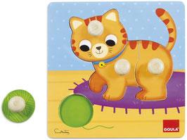 Puzzle 1-2 anni gatto gomitolo