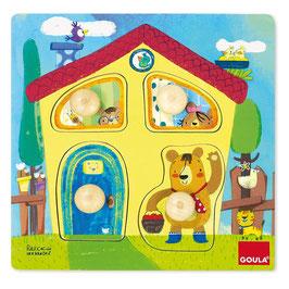 Puzzle 1-2 anni casa orsetti