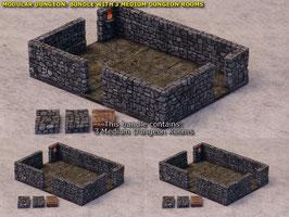 Dungeon Bundle: 3x Medium Dungeon Room