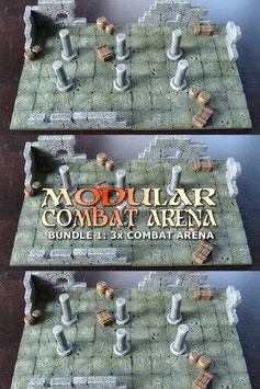 Bundle 01: 3x Modular Combat Arena