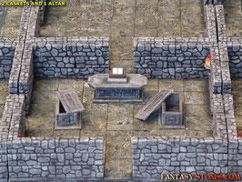 2 Caskets + 1 Altar