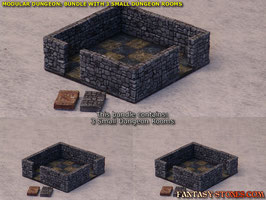Dungeon Bundle: 3x Small Dungeon Room