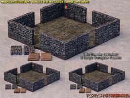 Dungeon Bundle: 3x Large Dungeon Room