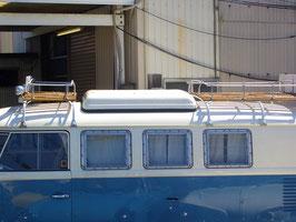 RSウエストファリアタイプ ルーフラックのショートタイプ。  ルーフの長さは、約500cmです。