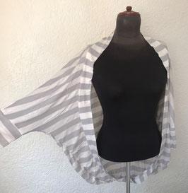 Cardigan SOPHIE Luani gris/blanco
