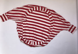 Cardigan SOPHIE Luani rojo/blanco