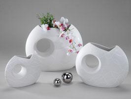 Vaso samunga bianco