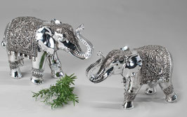 Elefante argento antico