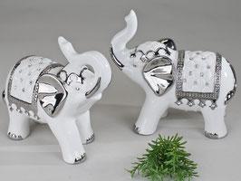 Elefante bianco argento