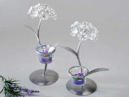 Portacandele fiore da tavolo