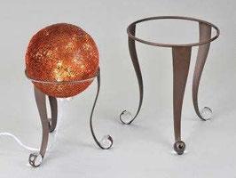 Supporto per sfere in metallo color marrone