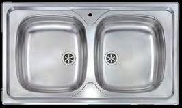 15*Lavello incasso acciaio inox