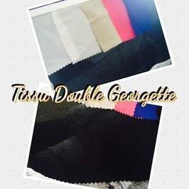 tissu double crêpe georgette