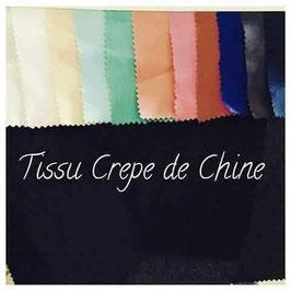 tissu crêpe de chine
