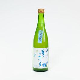商品名松の花 夏のうすにごり 純米原酒
