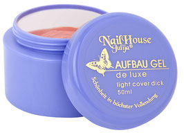 NEU! | aufbau gel | de luxe | light cover dick
