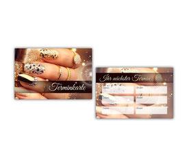 "Terminkarten ""Gold"" - 100Stk."