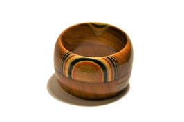 Portatovagliolo in legno con mosaico 05