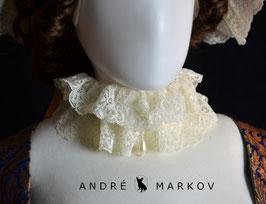 "Halsrüsche ""Armandine""  -  Lace Chocker Necklace ""Armandine"""