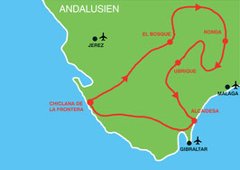 Andalusien Rundreise