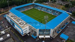 CFC-Stadion Seitenansicht