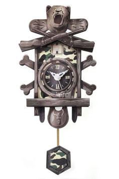 "Schwarzwälder Papp-Uhr - Mini ""Bärental"""