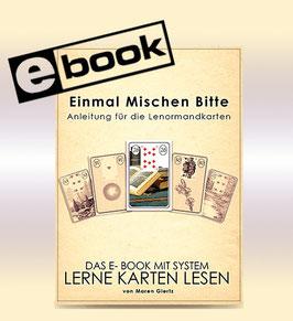 """Kartenlegen lernen mit dem E-Book """"Einmal Mischen Bitte"""""""
