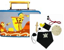 Spieleset im Koffer -Pirat 8tlg