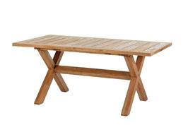 Diamond Garden Gartentisch Boulogne Teaktisch Tisch Massiv X Beine