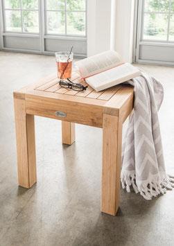 Beistelltisch Destiny Bristol SPA Badezimmer Beistelltisch Tisch Teak Teaktisch 45x45x45