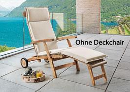 Premium Polster Auflage für Deckchair Natur Kissen Exclusiv by Destiny - Ohne Deckchair