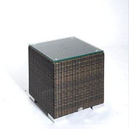 Kunstfaser Kubus Tisch Cubus Auckland Beistelltisch div. Größen