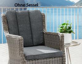 Destiny Pro Auflage Anthrazit für Gartensessel Luna - Ohne Sessel