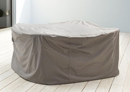 Premium Schutzhülle Loungegruppe Loungeset Schutzhaube Hülle Haube Schwarz 237 x 237 cm