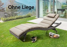 DESTINY Polster für Wave Liege -Sand Meliert - OHNE LIEGE -