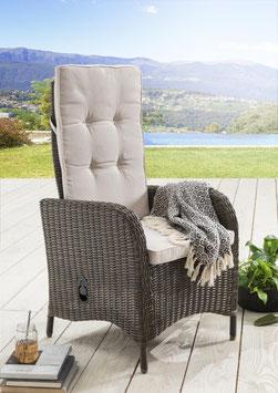 Destiny Hochlehner Sessel Palma Vintage Braun Komfortsessel Gartensessel