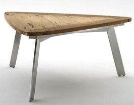 Destiny Tisch Toledo TRI Esstisch 170 Treibholz Edelstahl Wohnzimmertisch