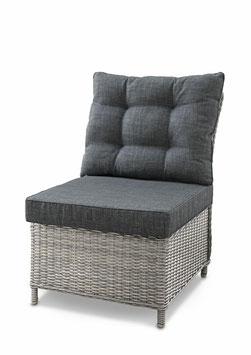 Destiny Singlemodul PALMA Vintage Weiß Sessel Loungesessel Dininglounge