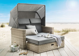 Destiny FERRARA Multifunkt.-Lounge Insel Loungeliege Sofaset Vario Sofainsel