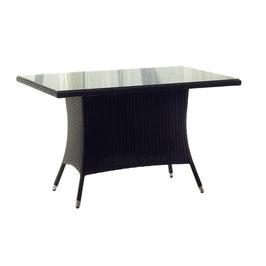 Destiny Gartentisch Auckland 165 x 90 Polyrattan Tisch Esstisch Geflechttisch