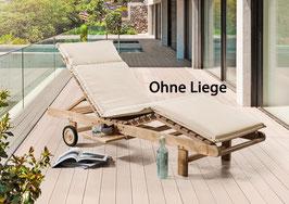 Destiny Premium Auflage Gartenliege Sonnenliege - Ohne Liege -