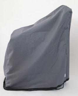 Destiny Premium Schutzhülle Grau 90 x 70 cm für Sessel Schutzhaube Hülle Haube