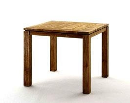 Destiny Teaktisch Dorado Tisch 90 x 90 Altes Teakholz Gartentisch Esstisch