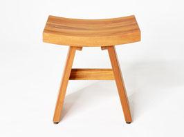 DESTINY Beistelltisch Japan Design Badezimmer Hocker Tisch Teak Teaktisch