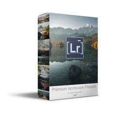 Premium landscape Presets für Lightroom und Photoshop