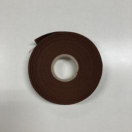 Gurtband braun /2,5cm breit