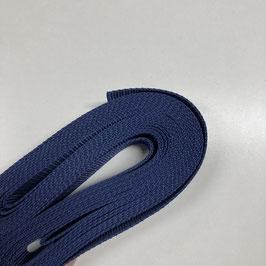 Gurtband dunkelblau, 3cm breit