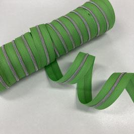 Reißverschluss 3mm /apfelgrün