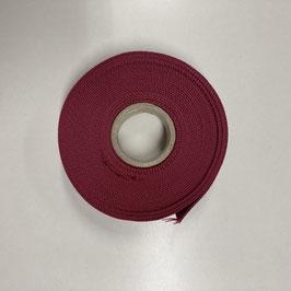 Gurtband dunkelrot, 3cm breit