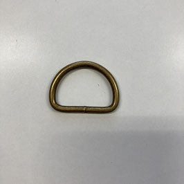 D-Ring, altmessing, 3cm